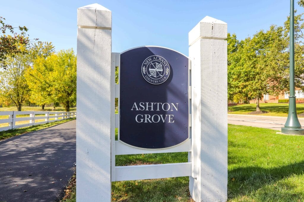 Ashton Grove Sign