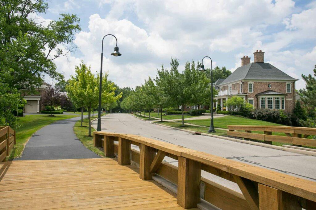 Waterston neighborhood in New Albany, Ohio