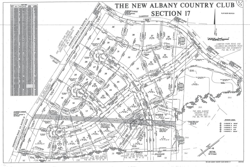 Waterston Plat Map