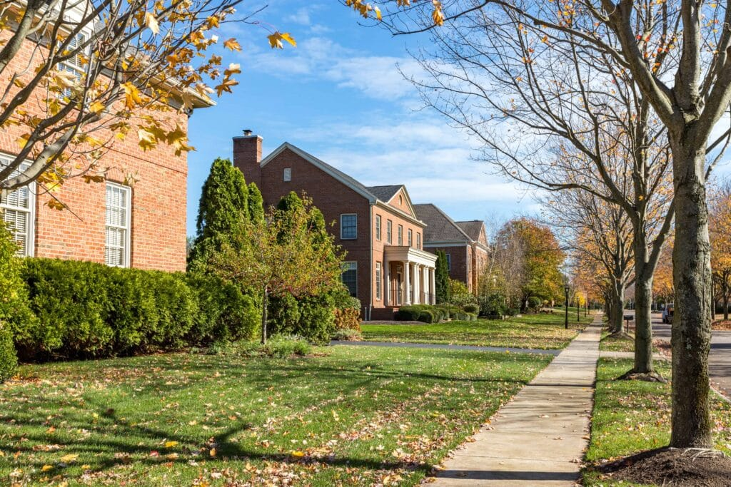 Pembrooke neighborhood New Albany Ohio